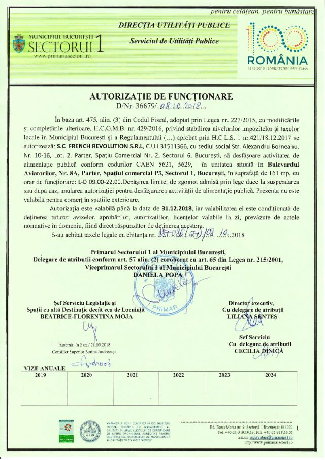 Autorizatia PS1